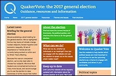 Quaker election website