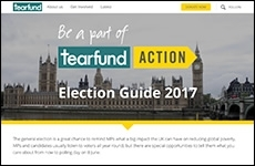 Tearfund election page